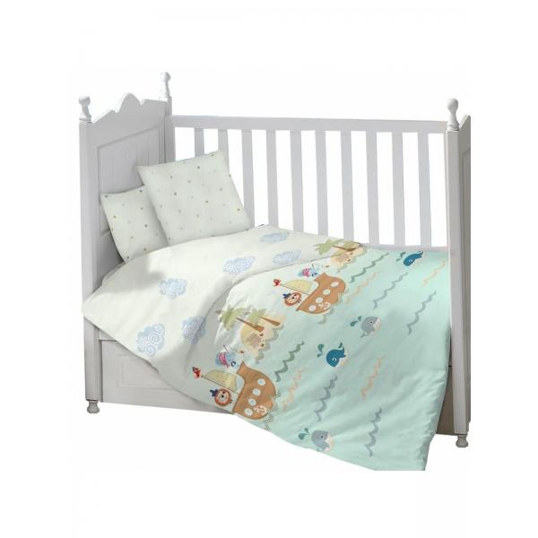 Комплект в кроватку Пираты