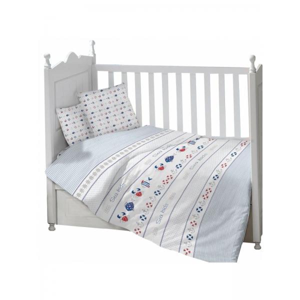 Комплект в кроватку из 3 предметов ЯКОРЯ
