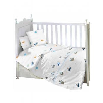 Комплект в детскую кроватку Транспорт